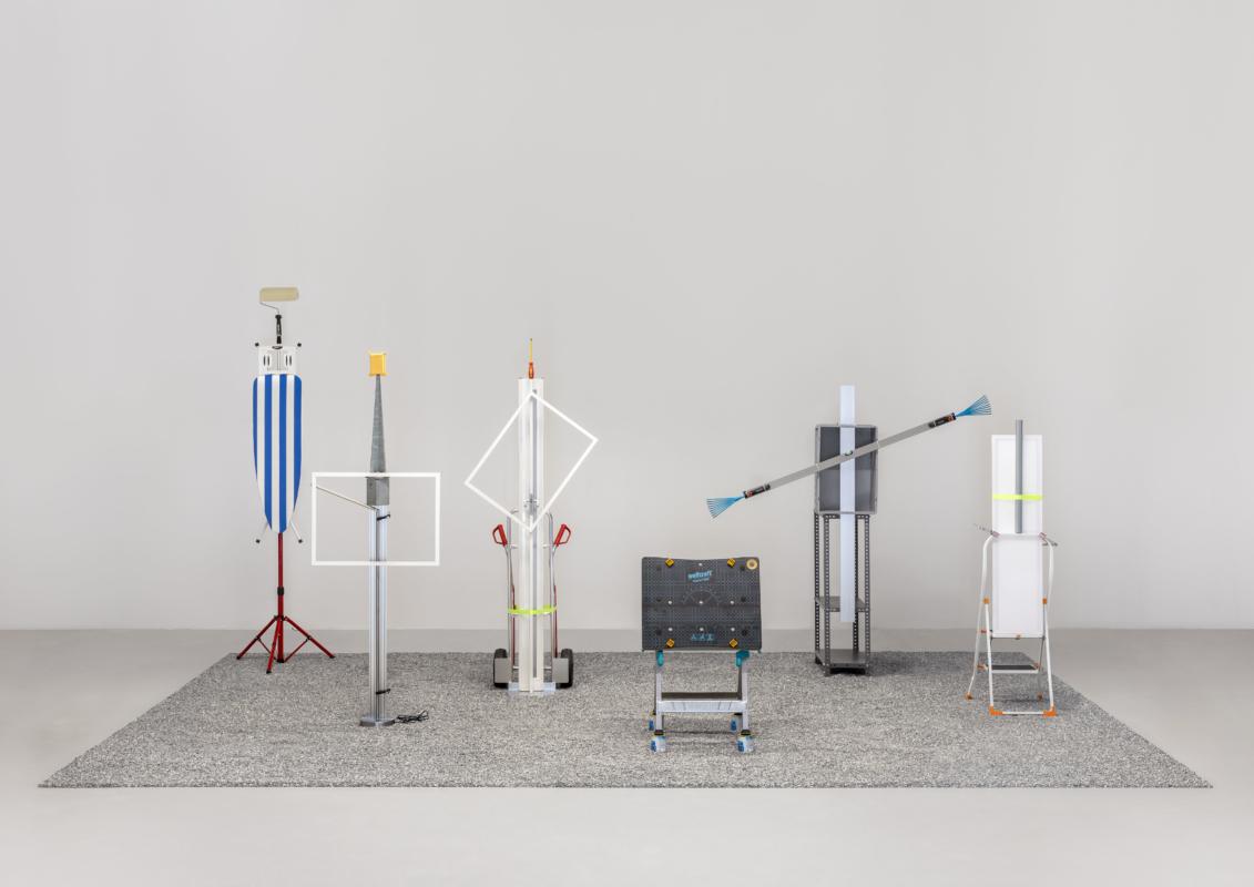 Florian Slotawa, OBI-Picasso, 2018. Foto: Henning Rogge © VG Bild-Kunst, Bonn 2018